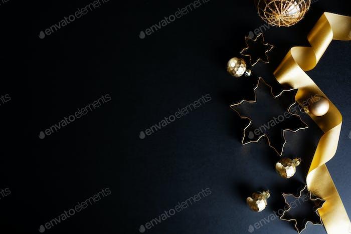 Weihnachten abstrakter goldener Hintergrund