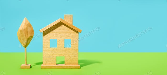 Colorful House background