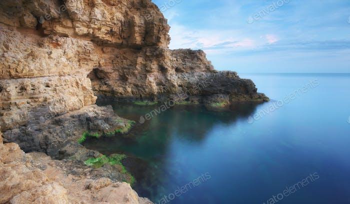 Art nature seascape.
