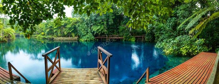 Nanda Blue Hole, Espiritu Santo, Vanuatu, Luganville