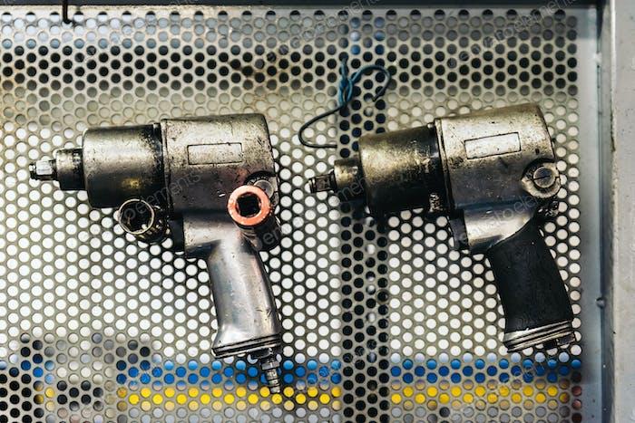 Mechanic Tool Wall.
