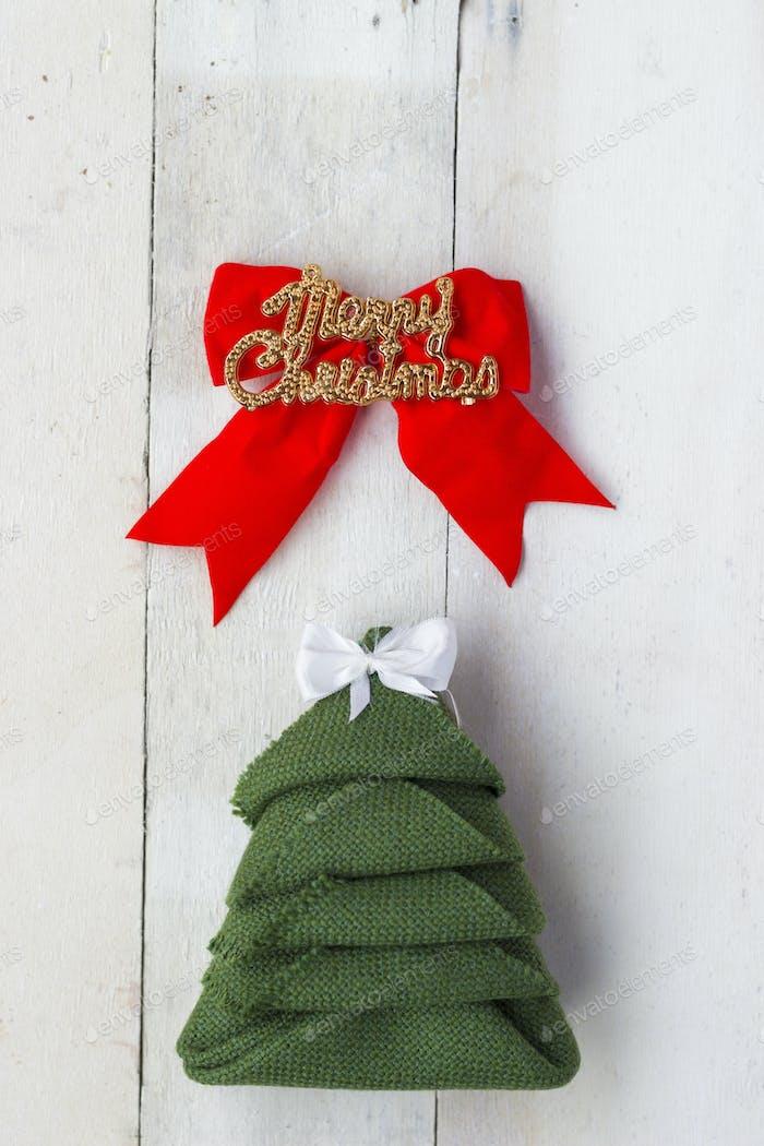Christmas Tree. Christmas Background
