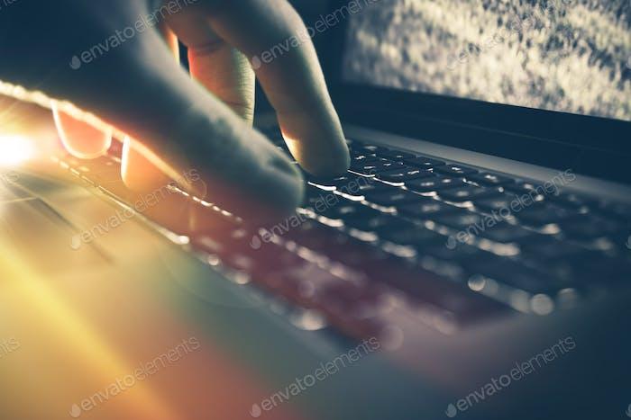 Laptop Computer Work