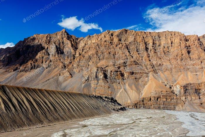 Spiti Valley in Himalayas, Himachal Pradesh, India