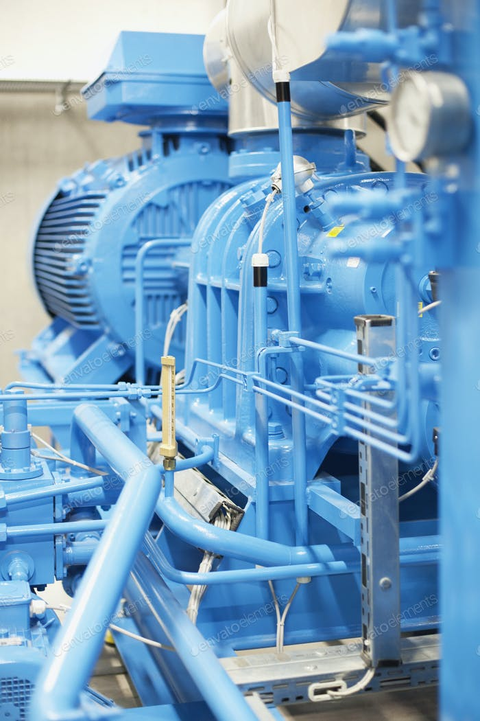 Machinery in industry