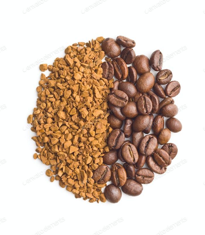 Der Instantkaffee.