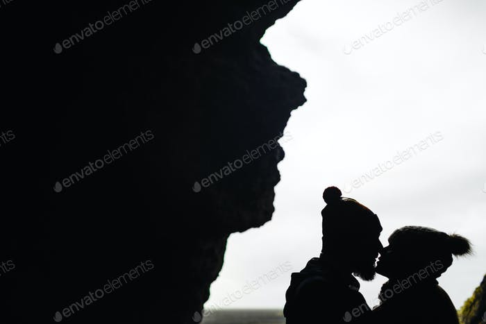 Kiss of lovers