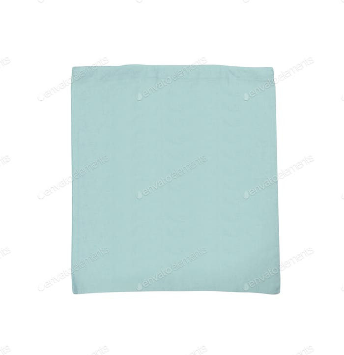 fabric bag isolated on white