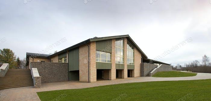 Modern Nursing Home Exterior
