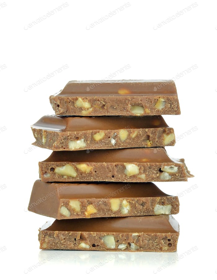 A Stack of Chocolate Chunks