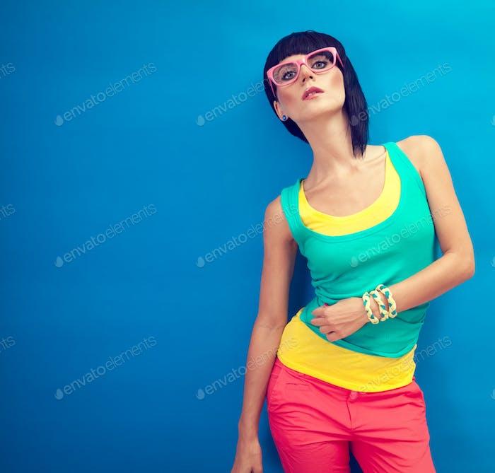 Summer funny girl