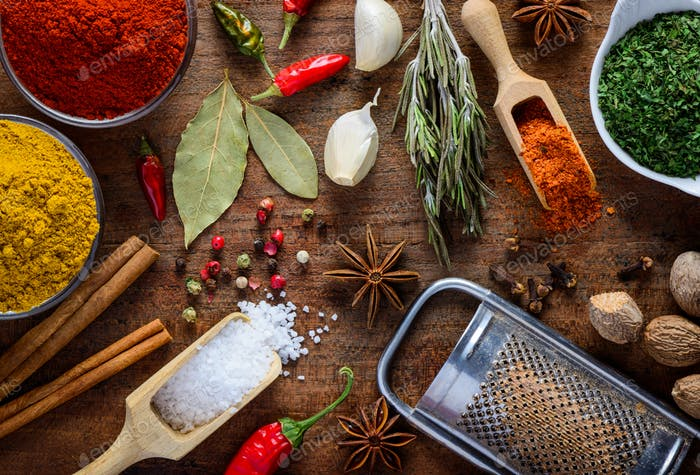 Food Spices, Seasoning and Ingredients