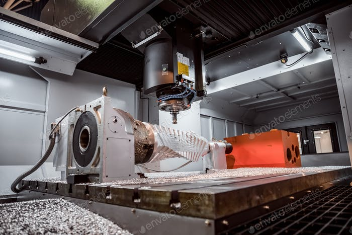 Metallbearbeitung CNC Fräsmaschine
