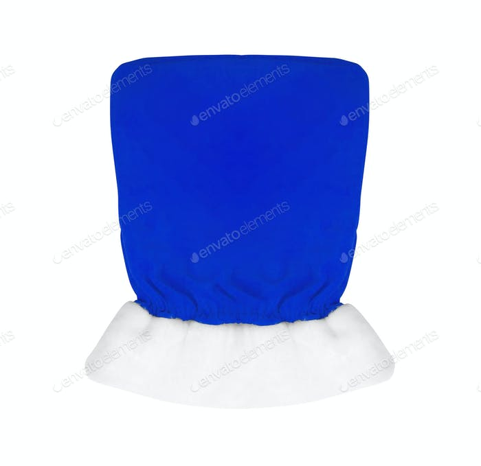 Blue bag isolated