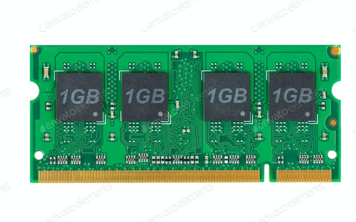 Laptop memory module (SO-DIMM)