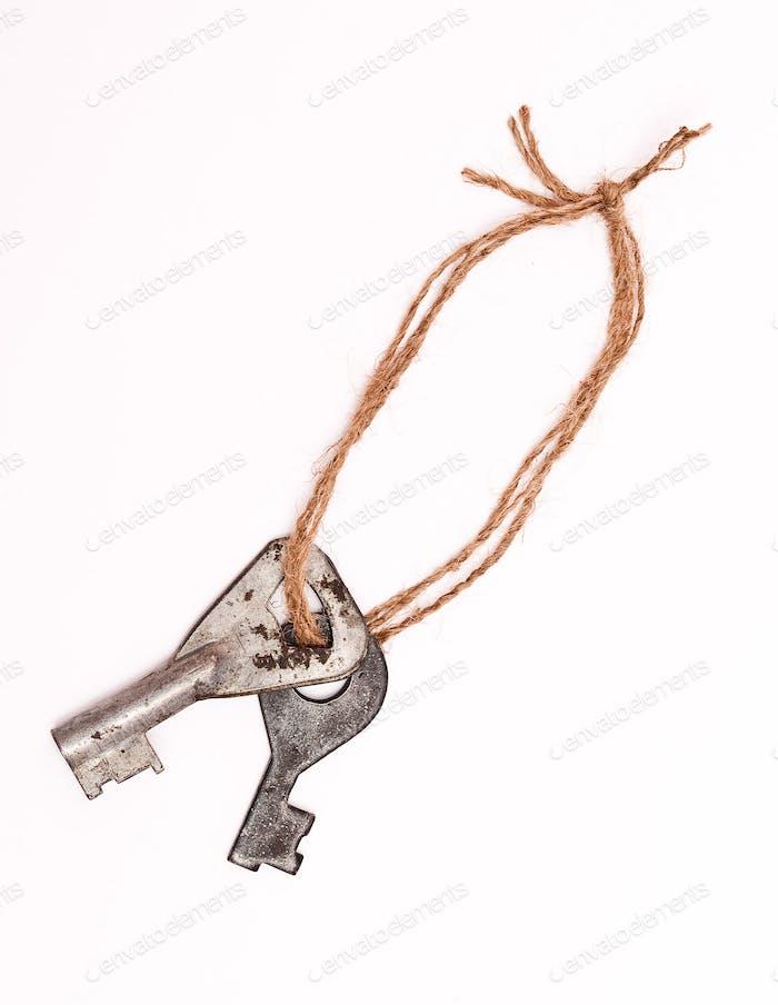 keys on rope
