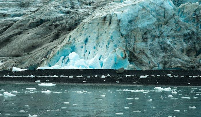 Glacier Ice Kenai Fjords Alaska Vereinigte Staaten