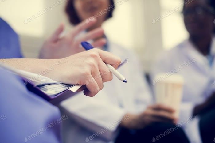 Ärzte Brainstorming