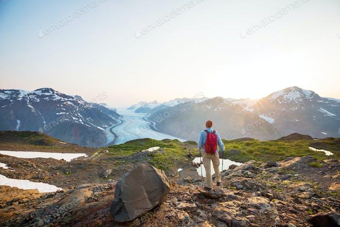 Wanderung in Kanada