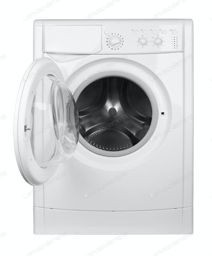 Washing machine isolated