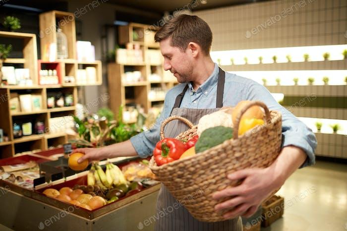 Vendor of vegs