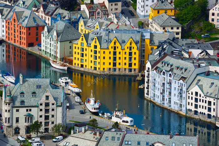 City of Alesund Norway