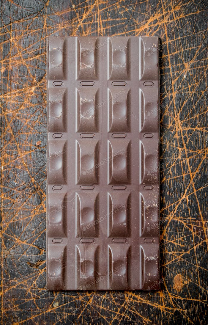 Шоколадная плитка.