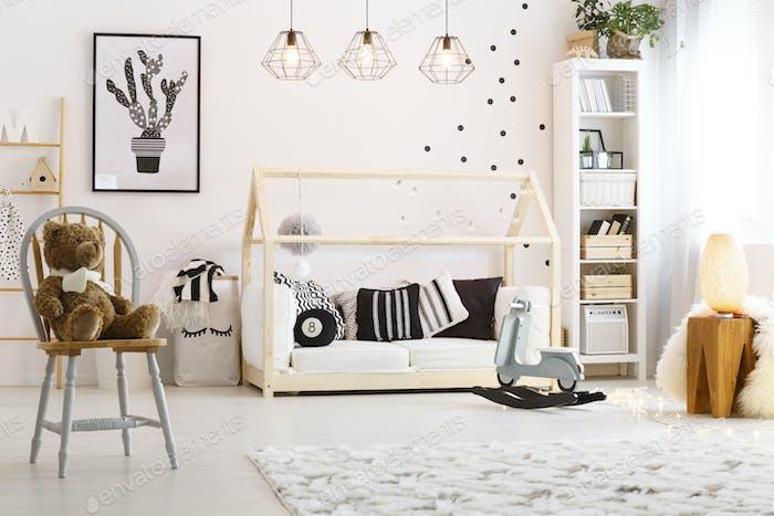 Elegante habitación Bebé