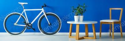 Bicycle and stylish furniture
