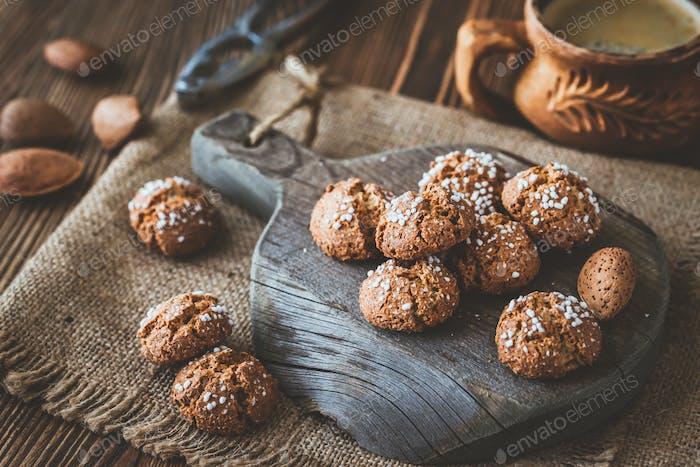 Amaretti di Saronno - Italian amaretto cookies