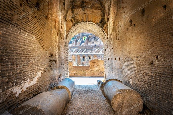 Blick auf das Kolosseum