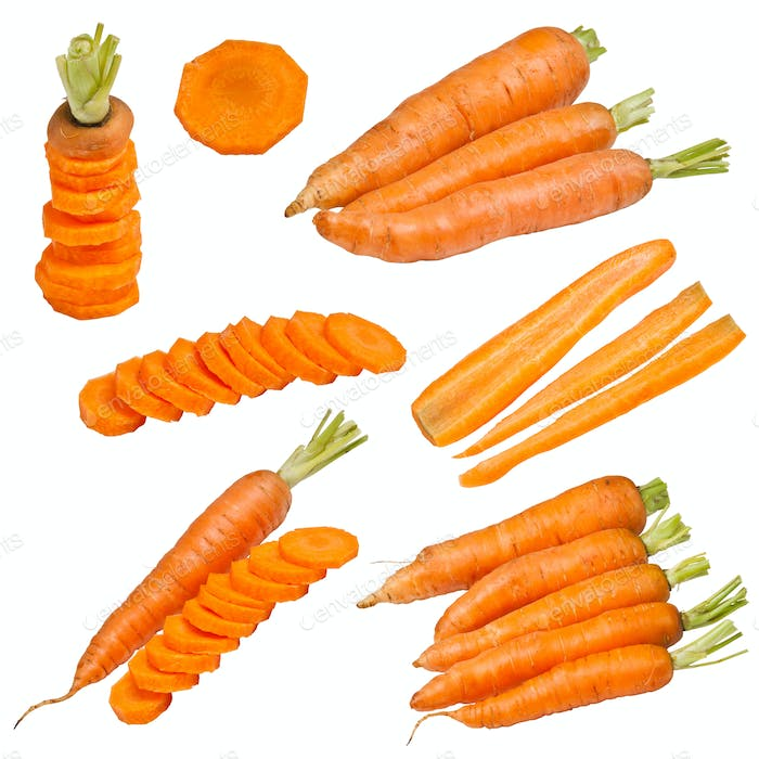 Set fresh carrot