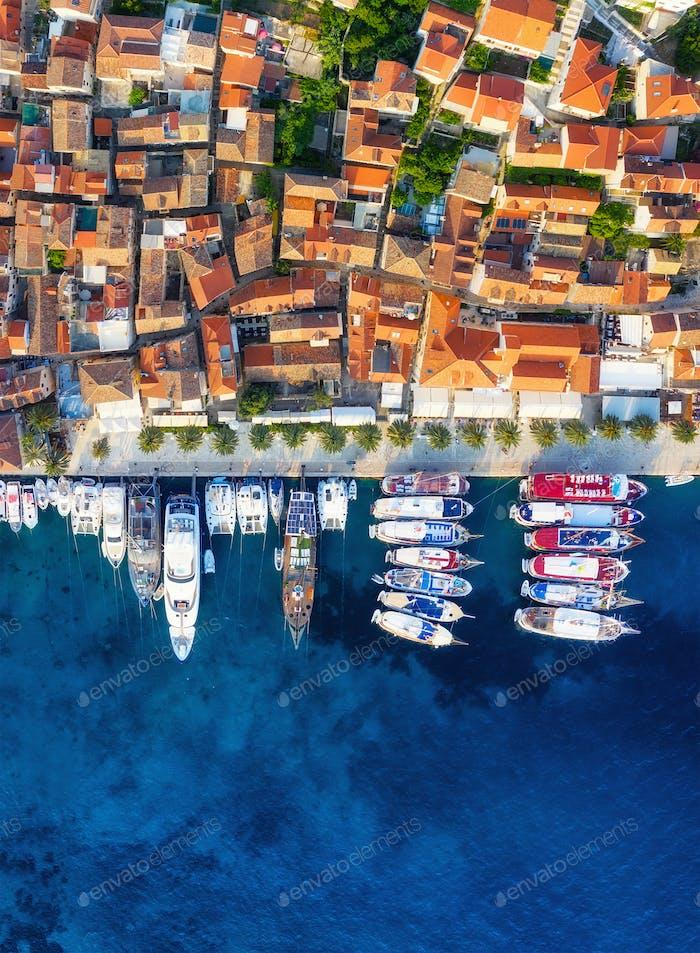 Dubrovnik, Croatia. Aerial landscape