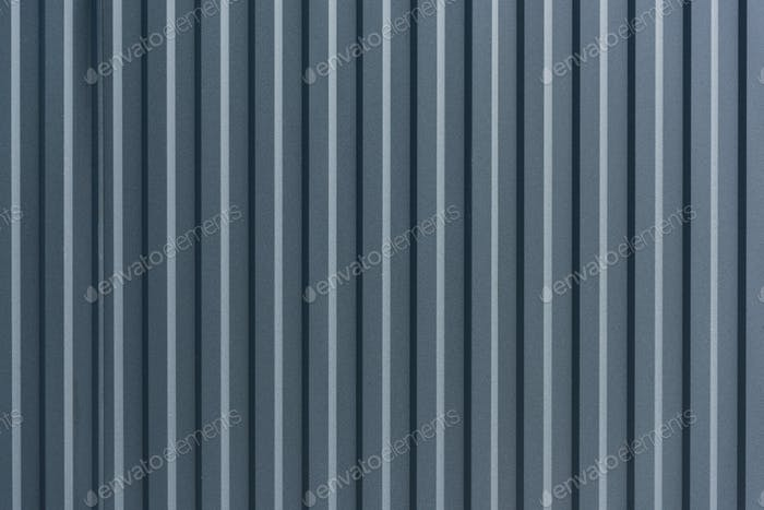 Vertical stripes of metal wall background