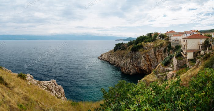 Vrbnik Croatia, Krk island landscape photo
