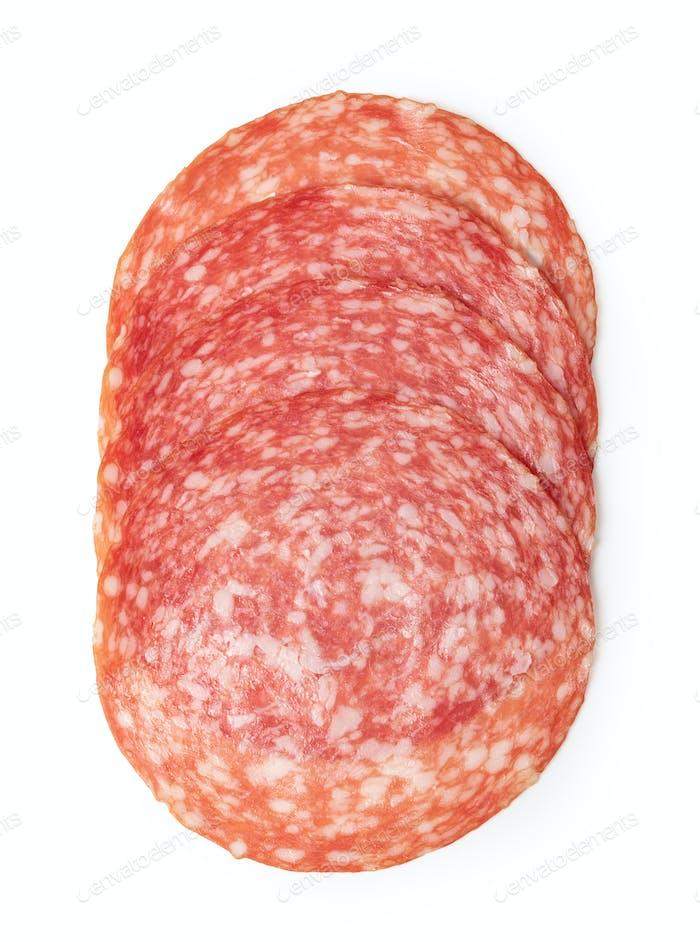 Salami Wurst Scheibe