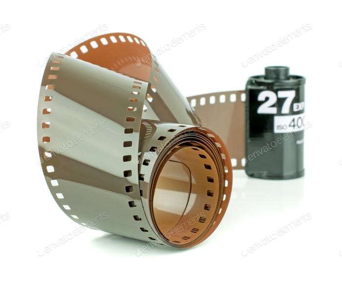 A Roll of 35mm Camera Film