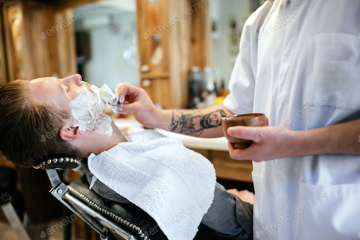 Hair beard and mustache treatment