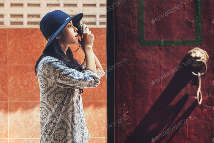 Camera Photographer Inspiration Journey Style Concept