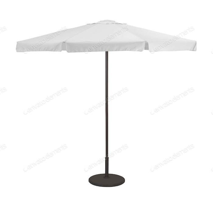 Beach umbrella isolated