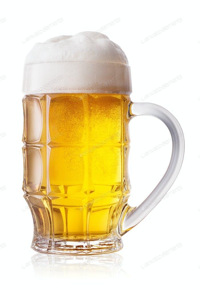 Facettierter leichter Bierbecher