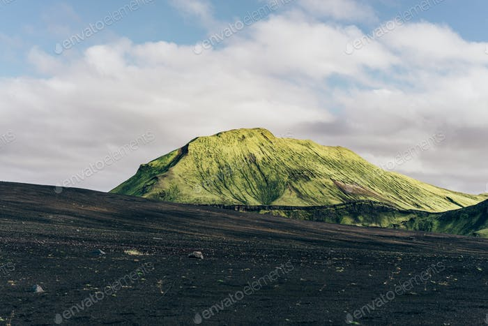 beautiful scenic majestic icelandic landscape