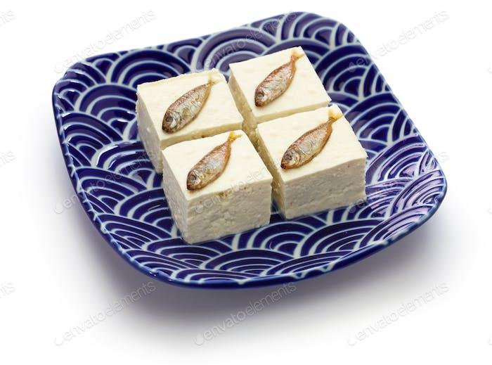 Sukugarasu Tofu is  a Japanese Okinawan delicacy.