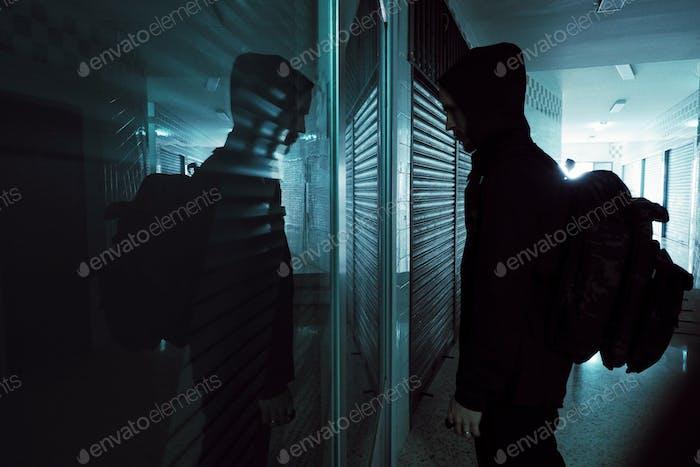 Geheimnis im Spiegel
