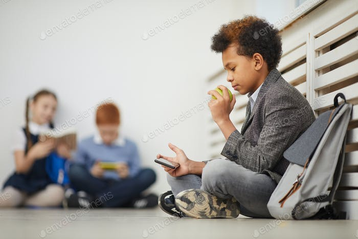 Перерыв в школе