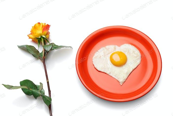 Love is breakfast in bed.