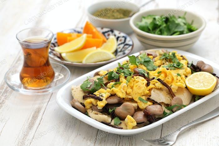bagila bil dihin, iraqi breakfast