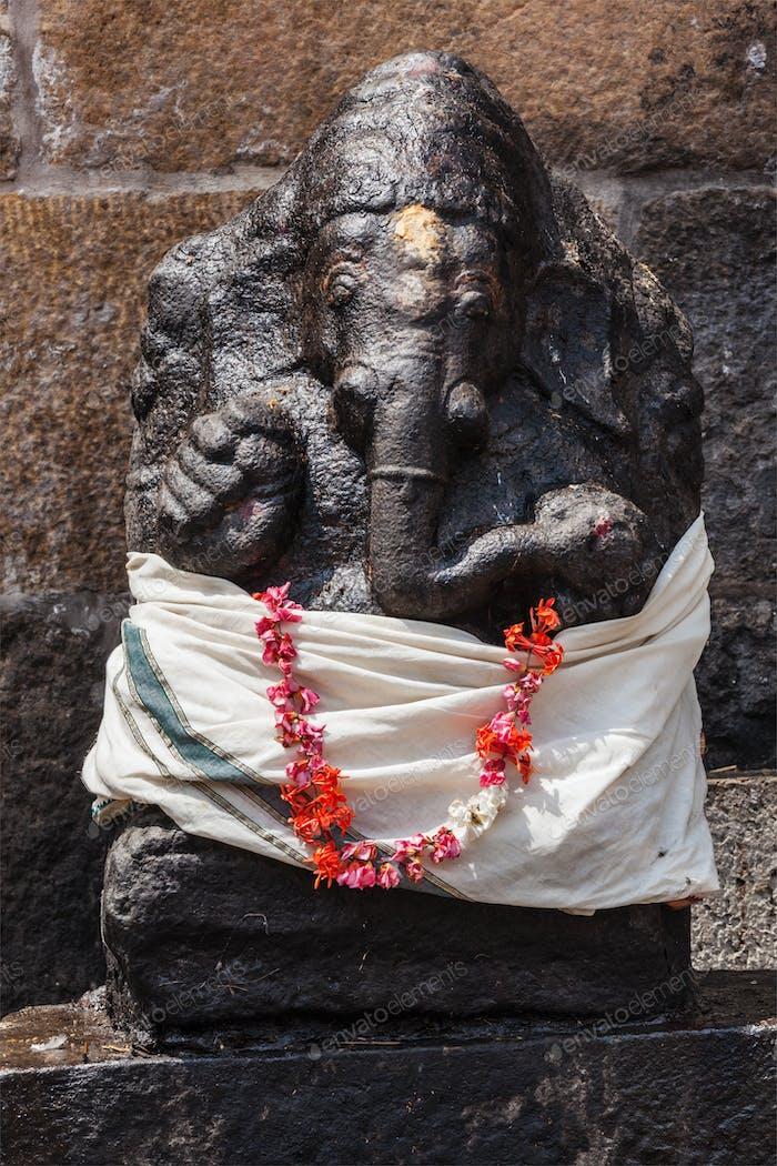 Ganesh Hindu god statue