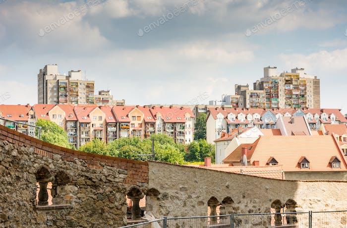 Wohnblock. Polen