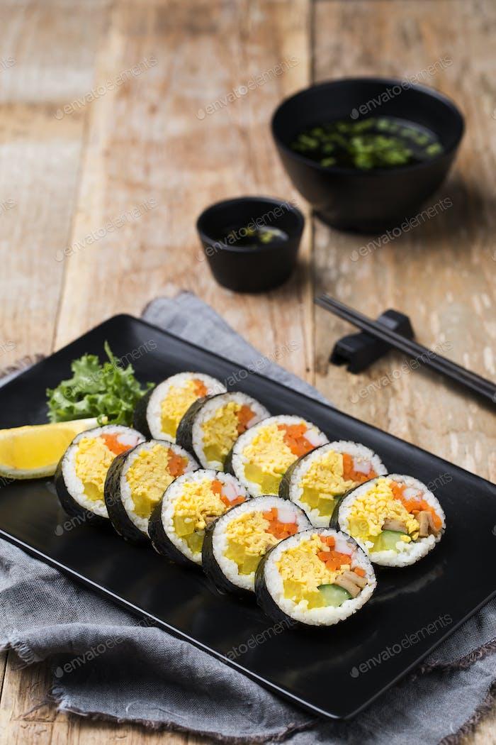 Koreanische Snack Food/Street Food